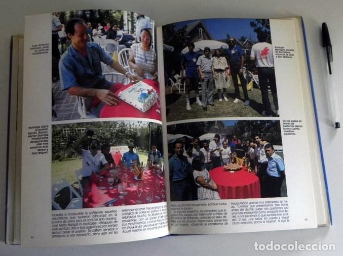Coleccionismo deportivo: PLATA EN LOS ÁNGELES LIBRO BALONCESTO HISTORIA JJOO DEPORTE SELECCIÓN JUEGOS OLÍMPICOS ESPAÑA MEDALL - Foto 5 - 228722800