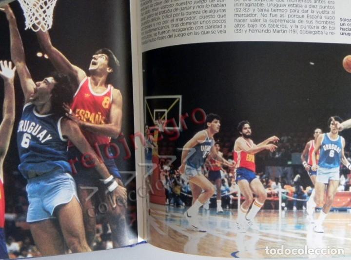 Coleccionismo deportivo: PLATA EN LOS ÁNGELES LIBRO BALONCESTO HISTORIA JJOO DEPORTE SELECCIÓN JUEGOS OLÍMPICOS ESPAÑA MEDALL - Foto 6 - 228722800