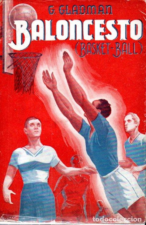 GLADMAN : BALONCESTO (SINTES, 1943) (Coleccionismo Deportivo - Libros de Baloncesto)