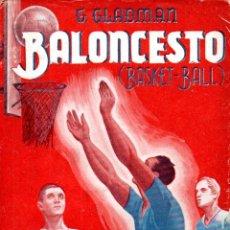 Coleccionismo deportivo: GLADMAN : BALONCESTO (SINTES, 1943). Lote 171200273