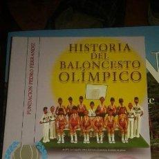 Coleccionismo deportivo: HISTORIA DEL BALONCESTO OLÍMPICO. Lote 172083089