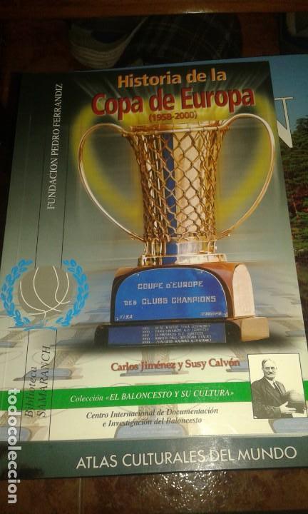 HISTORIA DE LA COPA DE EUROPA (Coleccionismo Deportivo - Libros de Baloncesto)