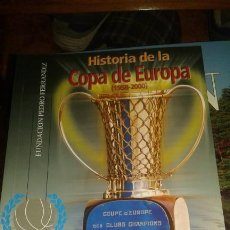 Colecionismo desportivo: HISTORIA DE LA COPA DE EUROPA. Lote 172083210
