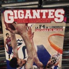 Colecionismo desportivo: GIGANTES DEL BASKET LA GUERRA DE LOS MUNDOS NÚMERO 1412. Lote 172684572