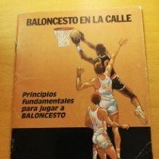 Colecionismo desportivo: PRINCIPIOS FUNDAMENTALES PARA JUGAR A BALONCESTO (EDICIONES ANCORA). Lote 173680170
