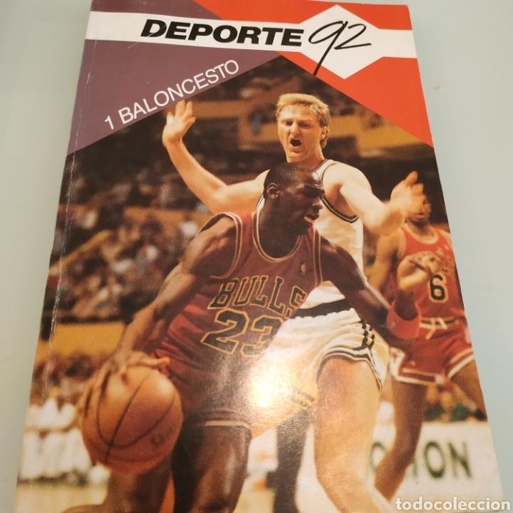 BALONCESTO COLECCIÓN DEPORTE 92 MICHAEL JORDAN LARRY BIRD (Coleccionismo Deportivo - Libros de Baloncesto)