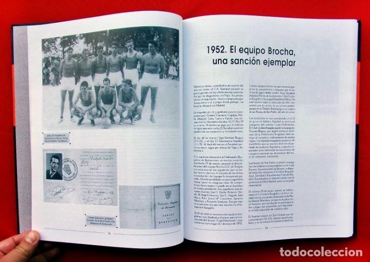 Coleccionismo deportivo: HISTORIA DEL BALONCESTO EN BURGOS. 1940 - 2000. BUEN ESTADO. AÑO: 2005. JUAN MANUEL CRESPO DELGADO. - Foto 3 - 175614040