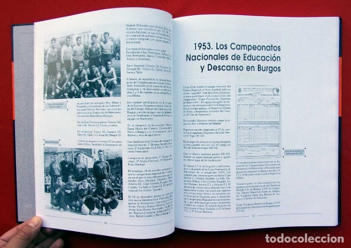 Coleccionismo deportivo: HISTORIA DEL BALONCESTO EN BURGOS. 1940 - 2000. BUEN ESTADO. AÑO: 2005. JUAN MANUEL CRESPO DELGADO. - Foto 4 - 175614040