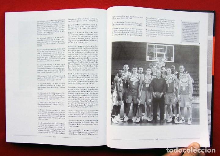 Coleccionismo deportivo: HISTORIA DEL BALONCESTO EN BURGOS. 1940 - 2000. BUEN ESTADO. AÑO: 2005. JUAN MANUEL CRESPO DELGADO. - Foto 5 - 175614040
