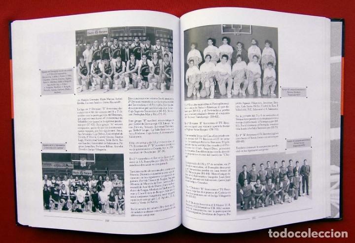 Coleccionismo deportivo: HISTORIA DEL BALONCESTO EN BURGOS. 1940 - 2000. BUEN ESTADO. AÑO: 2005. JUAN MANUEL CRESPO DELGADO. - Foto 7 - 175614040