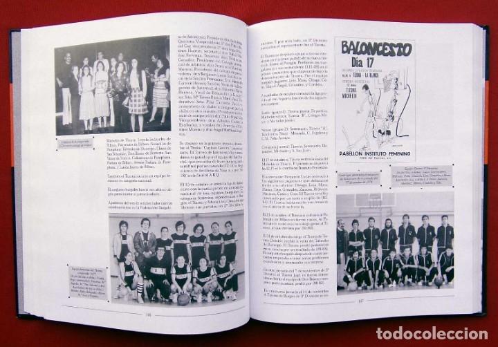 Coleccionismo deportivo: HISTORIA DEL BALONCESTO EN BURGOS. 1940 - 2000. BUEN ESTADO. AÑO: 2005. JUAN MANUEL CRESPO DELGADO. - Foto 9 - 175614040