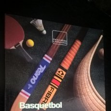 Coleccionismo deportivo: BASQUETBOL. REGLAMENT OFICIAL. GENERALITAT DE CATALUNYA. SECRETARIA GENERAL DE L´ESPORT. . Lote 176663422