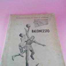 Coleccionismo deportivo: LIBRO-BALONCESTO-Nº4-1944-DELEGACIÓN NACIONAL DEL FRENTE DE JUVENTUDES-SELLOS-VER FOTOS. Lote 180426653