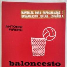Coleccionismo deportivo: BALONCESTO. ANTONIO PIÑERO. Lote 180939331