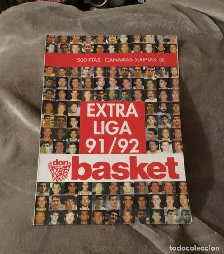 Coleccionismo deportivo: Extraordinario extra liga 91 92 Don basket Impecable estado - Foto 2 - 181941826