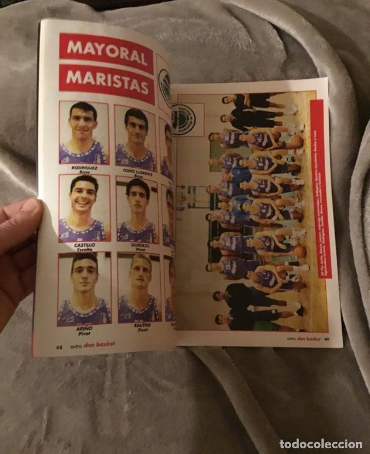 Coleccionismo deportivo: Extraordinario extra liga 91 92 Don basket Impecable estado - Foto 3 - 181941826