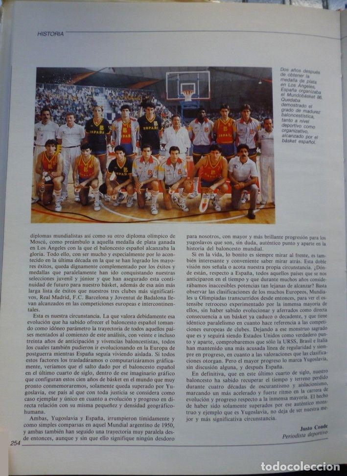 Coleccionismo deportivo: BALONCESTO ESPAÑOL 88. LIBRO DEL AÑO - Foto 6 - 182178982