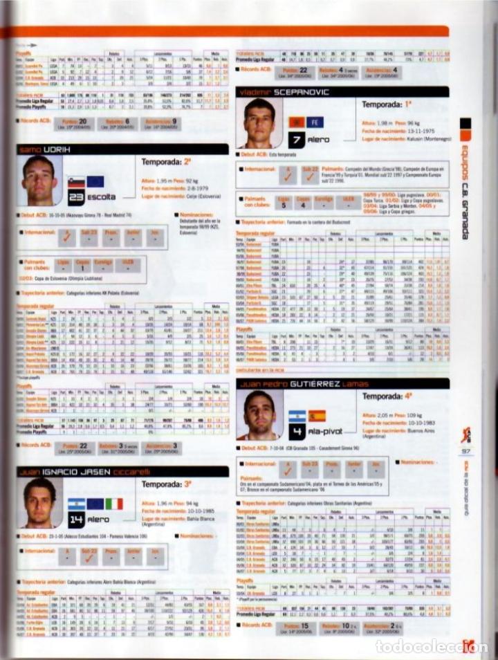 Coleccionismo deportivo: GUÍA MARCA DE BALONCESTO ACB 2008 - Foto 3 - 182179132