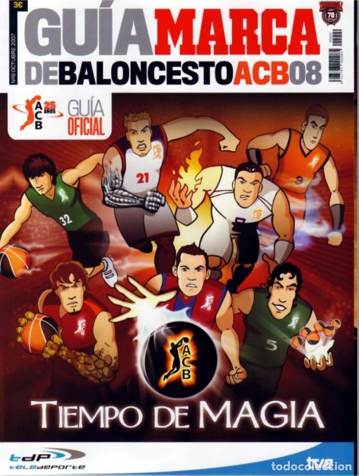 GUÍA MARCA DE BALONCESTO ACB 2008 (Coleccionismo Deportivo - Libros de Baloncesto)
