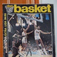 Coleccionismo deportivo: DON BASKET EXTRA LIGA 84-85. Lote 182179197
