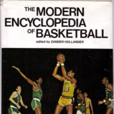 Coleccionismo deportivo: THE MODERN ENCYCLOPEDIA OF BASKETBALL. Lote 182179303