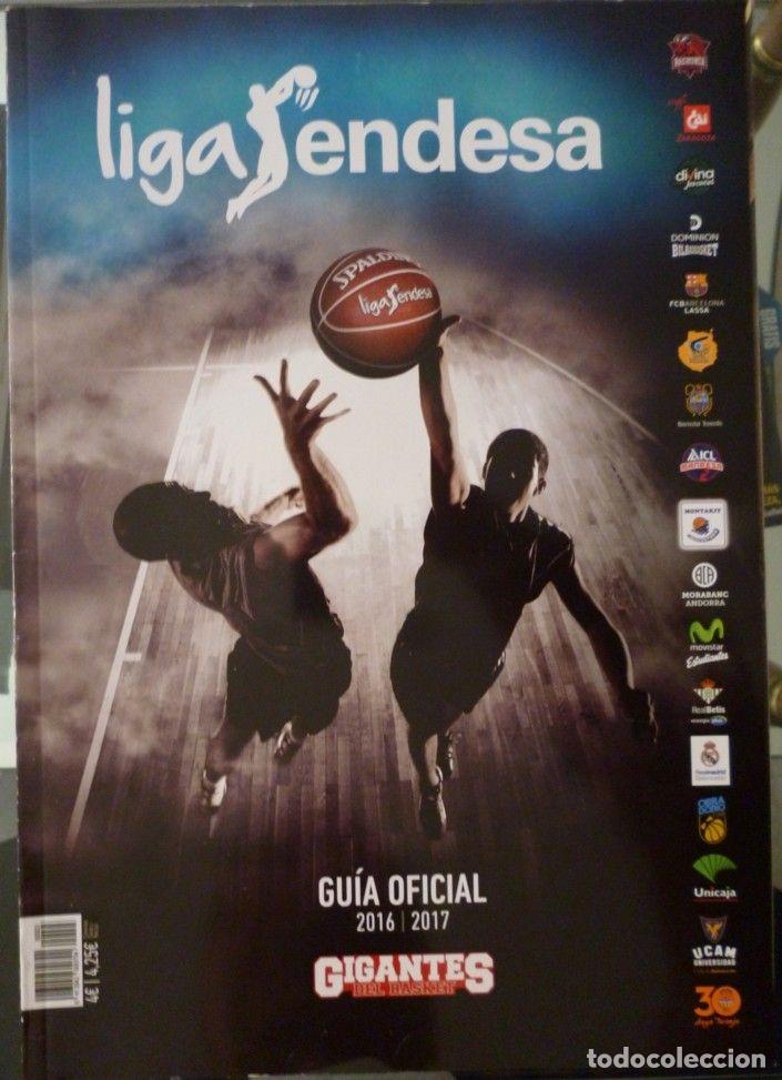 LIGA ENDESA GUÍA OFICIAL 2016/2017 (Coleccionismo Deportivo - Libros de Baloncesto)