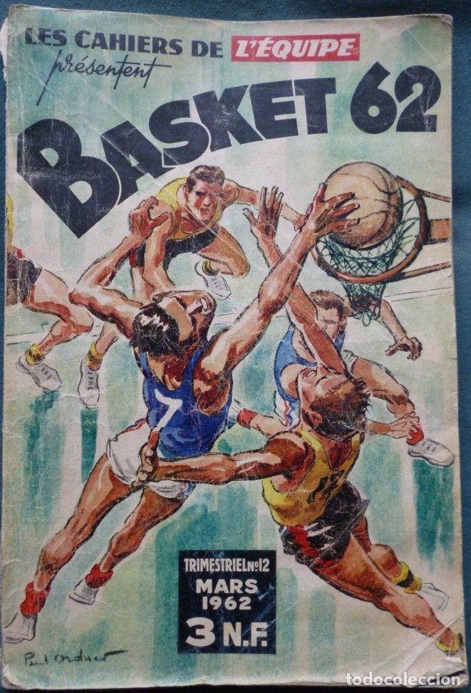 LES CAHIERS DE L'ÉQUIPE BASKET 62 (Coleccionismo Deportivo - Libros de Baloncesto)