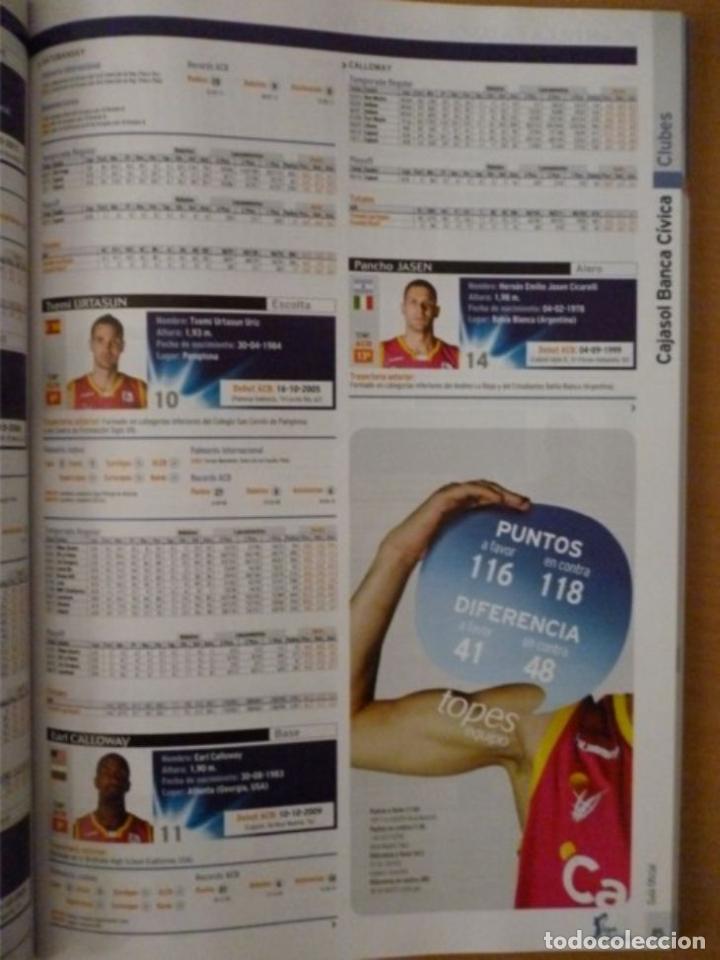 Coleccionismo deportivo: LIGA ENDESA GUÍA OFICIAL 2011/12 - Foto 3 - 182179482