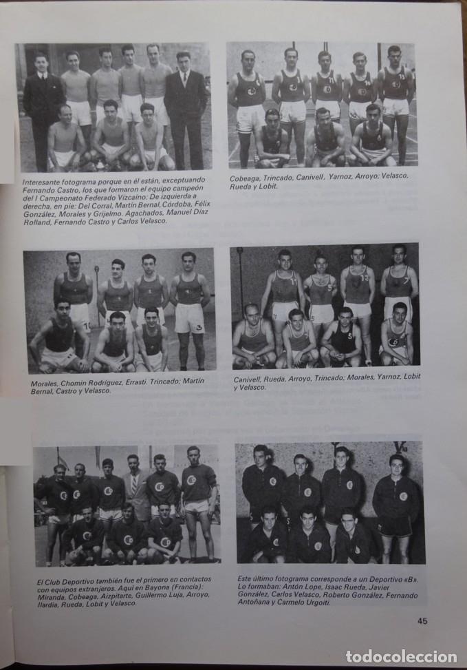 Coleccionismo deportivo: HISTORIA DEL BALONCESTO VIZCAINO 1934/35 - 1984/85 - Foto 2 - 182179561