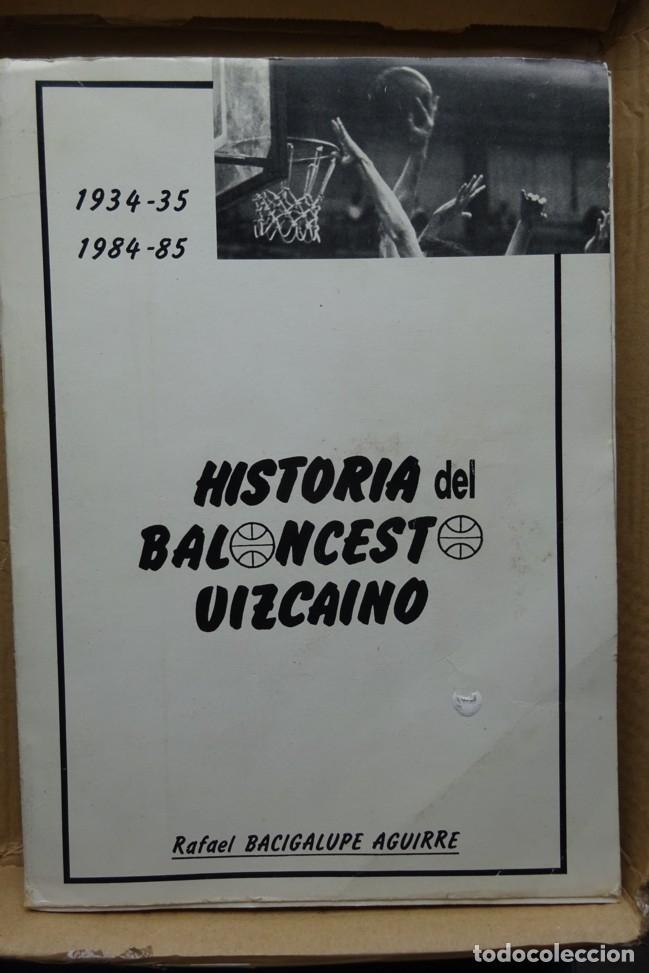 HISTORIA DEL BALONCESTO VIZCAINO 1934/35 - 1984/85 (Coleccionismo Deportivo - Libros de Baloncesto)