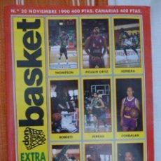 Colecionismo desportivo: DON BASKET EXTRA LIGA 90-91. Lote 182179648