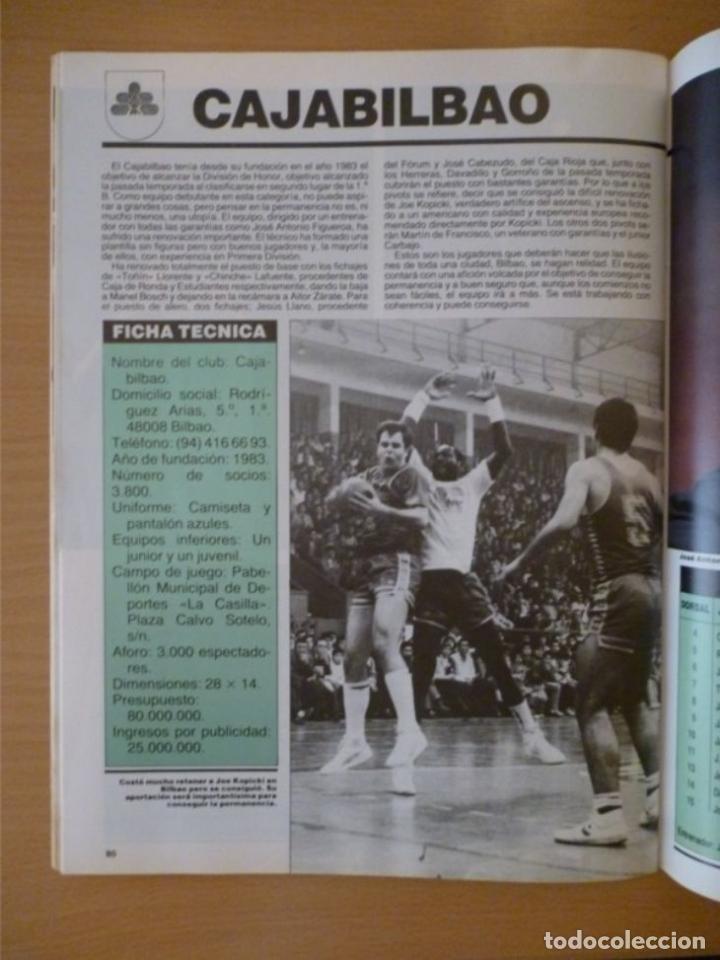 Coleccionismo deportivo: DON BASKET EXTRA LIGA 86-87 - Foto 4 - 182179671