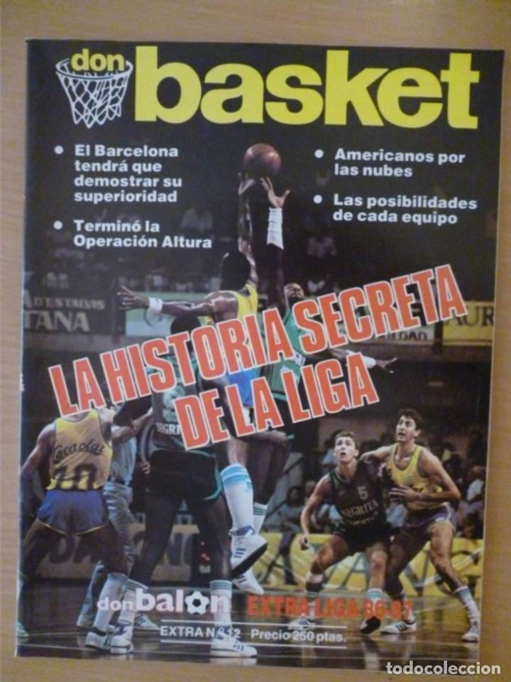 DON BASKET EXTRA LIGA 86-87 (Coleccionismo Deportivo - Libros de Baloncesto)