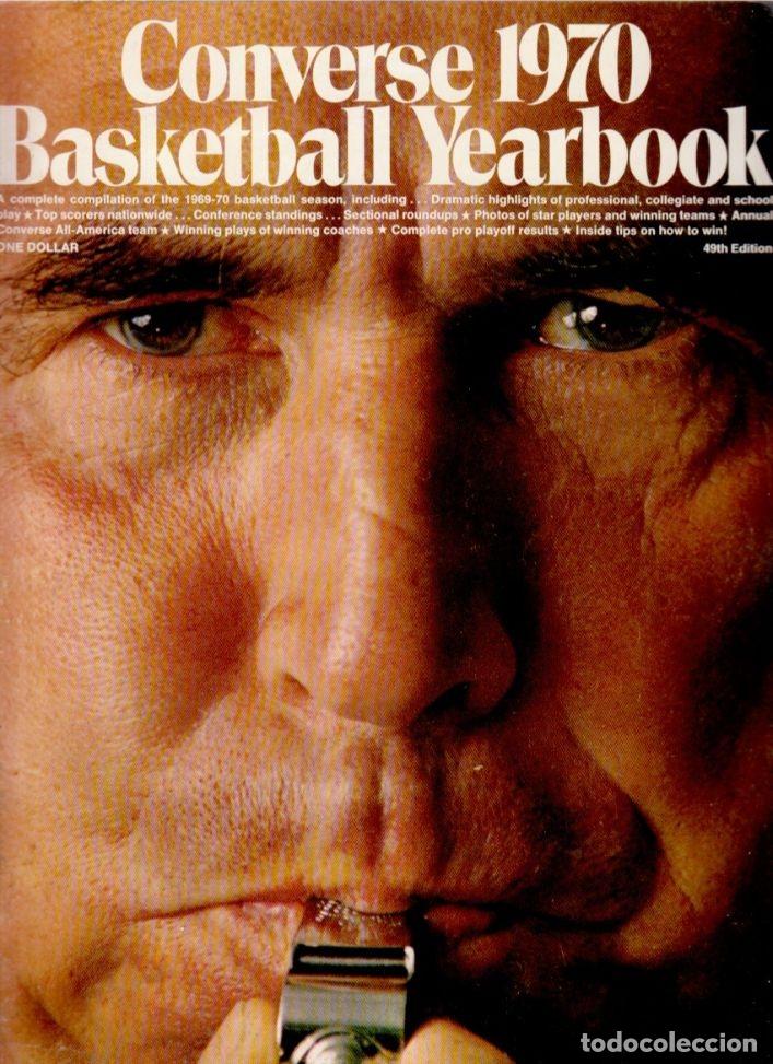 CONVERSE 1970 BASKETBALL YEARBOOK (Coleccionismo Deportivo - Libros de Baloncesto)