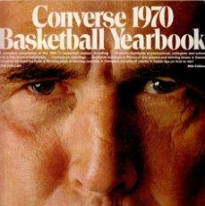 Coleccionismo deportivo: CONVERSE 1970 BASKETBALL YEARBOOK. Lote 182179683