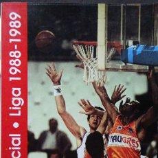 Coleccionismo deportivo: GUÍA OFICIAL LIGA 1988-1989 (ACB, TIBIDABO). Lote 182180411