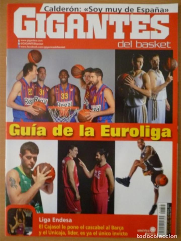 GIGANTES DEL BASKET Nº 1355 - GUÍA DE LA EUROLIGA 2011/12 (Coleccionismo Deportivo - Libros de Baloncesto)