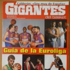 Coleccionismo deportivo: GIGANTES DEL BASKET Nº 1355 - GUÍA DE LA EUROLIGA 2011/12. Lote 182180417