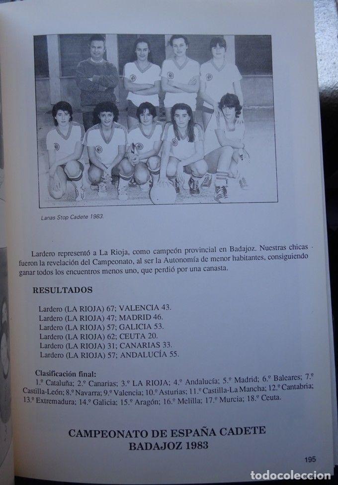 Coleccionismo deportivo: CENTENARIO DEL BALONCESTO 1891-1991. BALONCESTO EN LA RIOJA - Foto 3 - 182180840