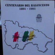 Coleccionismo deportivo: CENTENARIO DEL BALONCESTO 1891-1991. BALONCESTO EN LA RIOJA. Lote 182180840