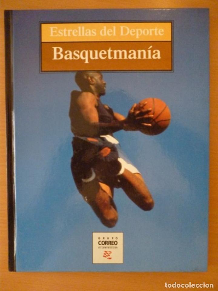 ESTRELLAS DEL DEPORTE: BASQUETMANÍA (Coleccionismo Deportivo - Libros de Baloncesto)