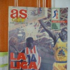 Colecionismo desportivo: AS COLOR LA LIGA ACB (1991/92). Lote 182180902