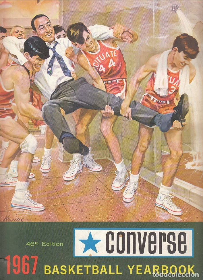 CONVERSE 1967 BASKETBALL YEARBOOK (Coleccionismo Deportivo - Libros de Baloncesto)