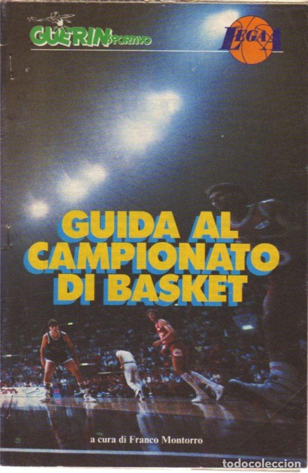 GUIDA CAMPIONATO DI BASKET 1988/89 (Coleccionismo Deportivo - Libros de Baloncesto)