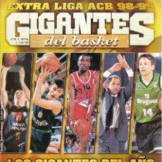 Coleccionismo deportivo: EXTRA LIGA ACB 98-99 GIGANTES DEL BASKET. Lote 182182353
