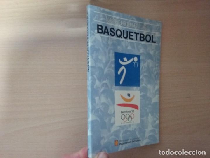 DICCIONARI DE BASQUETBOL (1991) - GENERALITAT DE CATALUNYA (ENCICLOPEDIA CATALANA) (Coleccionismo Deportivo - Libros de Baloncesto)