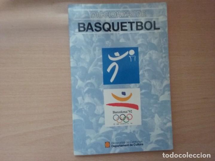 Coleccionismo deportivo: DICCIONARI DE BASQUETBOL (1991) - GENERALITAT DE CATALUNYA (ENCICLOPEDIA CATALANA) - Foto 2 - 182806720