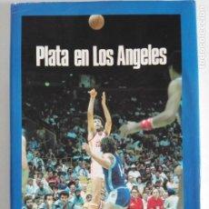 Coleccionismo deportivo: PLATA EN LOS ANGELES POR CARLOS JIMÉNEZ Y MARTÍN TELLO (BANCO EXTERIOR DE ESPAÑA, MADRID 1984). Lote 184059947