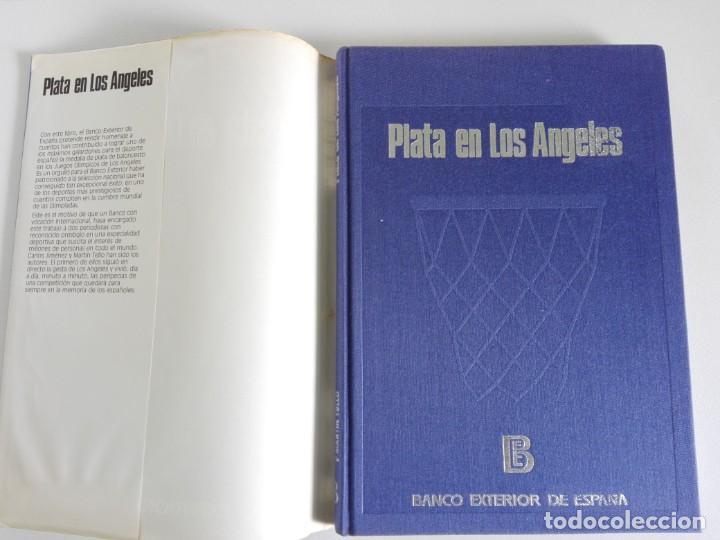 Coleccionismo deportivo: PLATA EN LOS ANGELES por Carlos Jiménez y Martín Tello (Banco Exterior de España, Madrid 1984) - Foto 4 - 184059947