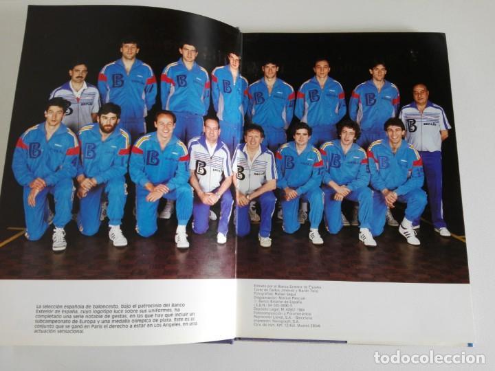 Coleccionismo deportivo: PLATA EN LOS ANGELES por Carlos Jiménez y Martín Tello (Banco Exterior de España, Madrid 1984) - Foto 5 - 184059947
